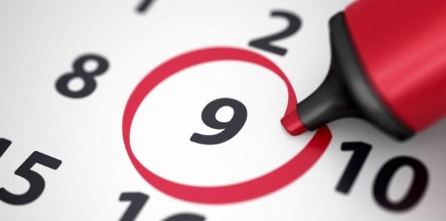 Calendari laboral del 2017