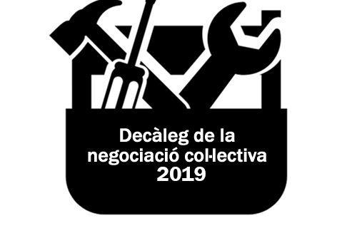 WEB Decàleg de Negociació Col·lectiva 2019