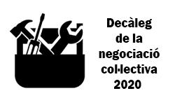 WEB Decàleg de Negociació Col·lectiva 2020