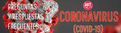Preguntas y respuestas frecuentes sobre el Coronavirus – COVID19