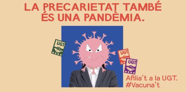 Vacuna't contra la precarietat!