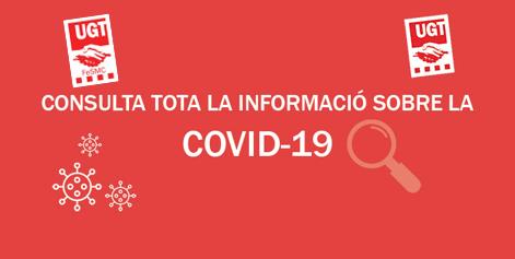 Consulta tota la informació sobre la Covid-19