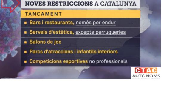 RESTRICCIONS CATALUNYA 1