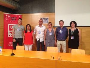 La nova executiva de SMC amb Joan Castro, el tercer per l'esquerra.