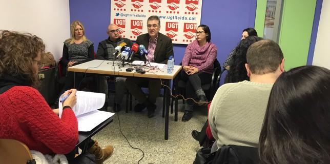 Lleida lidera la temporalitat a Catalunya