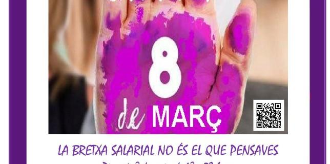 cartell cada dia es 8 de març -BRETXA SALARIAL- (2)