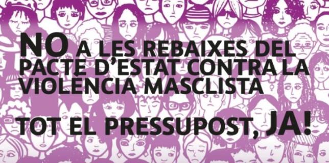 Concentració #AlertaFeminista16M a Tarragona