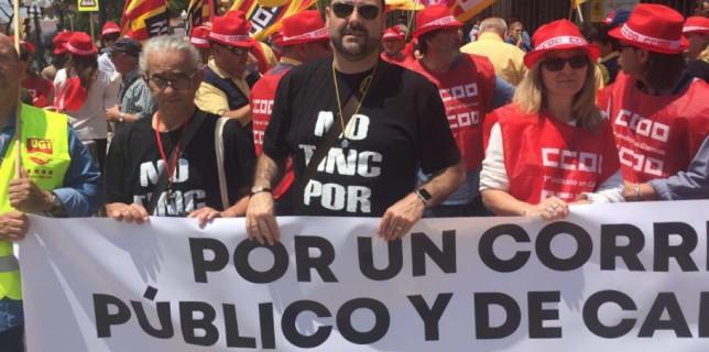 80% de seguiment a les aturades convocades avui a Correos i 30.000 treballadors i treballadores a les concentracions convocades a tot l'Estat