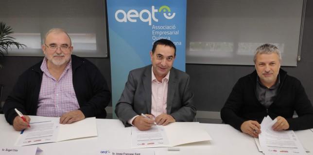 L'AEQT i els sindicats CCOO d'Indústria i UGT-FICA renoven el seu acord bilateral