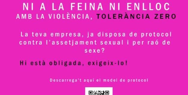 Actes a Tarragona i manifest de la UGT de Catalunya #25N Dia Internacional per a l'Eliminació de la Violència contra les Dones