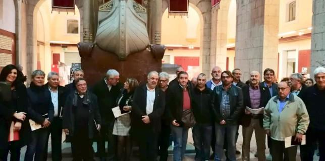 Recull d'imatges: Inauguració exposició '130 anys de lluites i conquestes' i acte de reconeixement ex-secretaris generals del sindicat a les Comarques de Tarragona