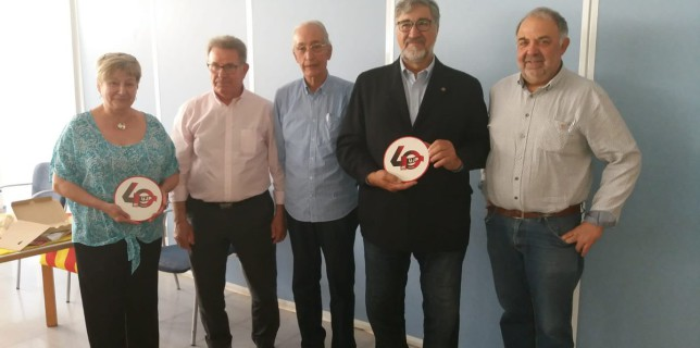 Acte a Cambrils: 40 anys de la Unió de Jubilats i Pensionistes (UJP-UGT de Catalunya) a les Comarques de Tarragona