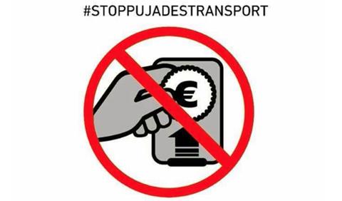 #STOPPUJADESTRANSPORT