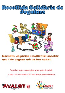 Cartel recollida Joguines2