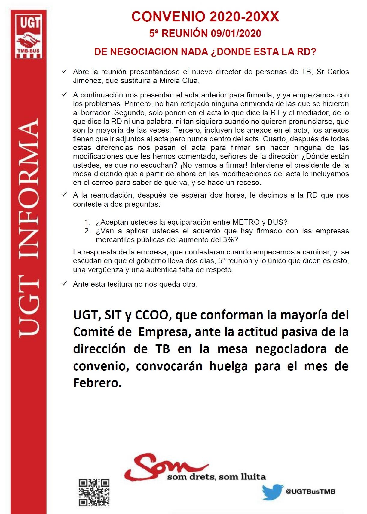 5ª Reunión Convenio 2020-20XX