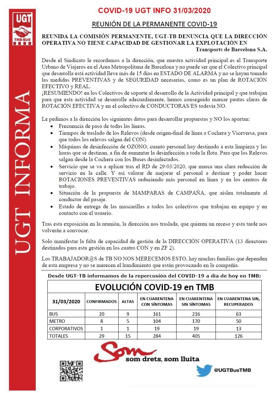 COVID-19 UGT INFO 31-03-2020 rev1