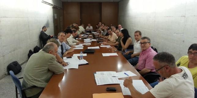 Comissió negociadora del 6è Conveni del PAS Laboral