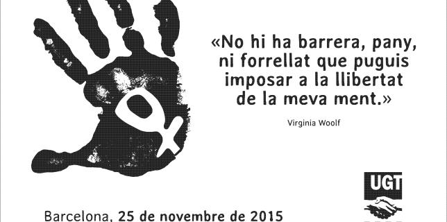 Placa commemorativa contra les violències masclistes
