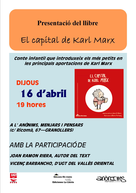 Presentaci del conte infantil el capital de karl marx ugt vall s oriental - El tiempo en el valles oriental ...