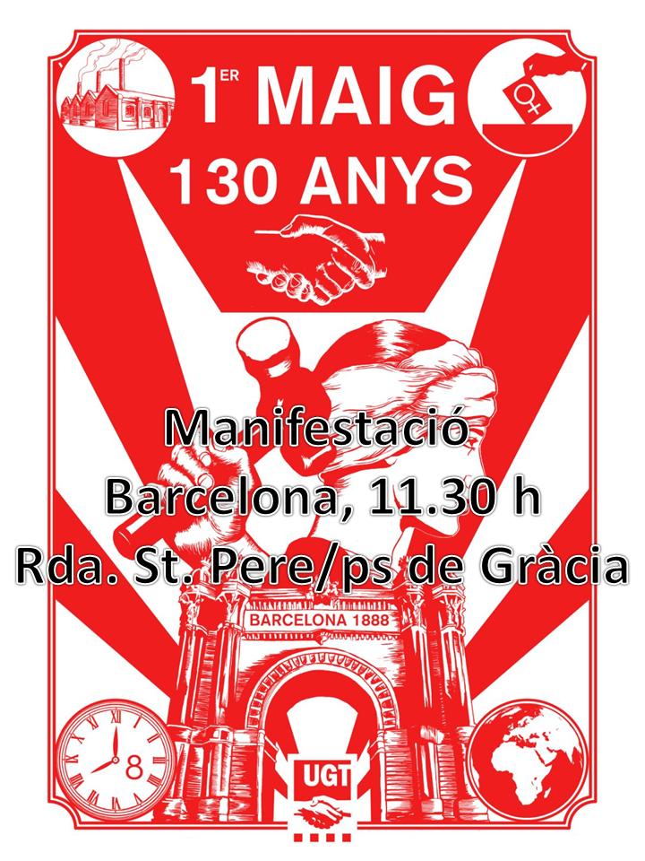 cartell primer de maig