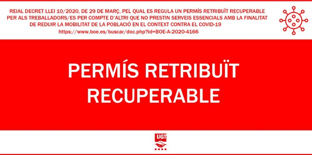 Permís Retribuït i Recuperable