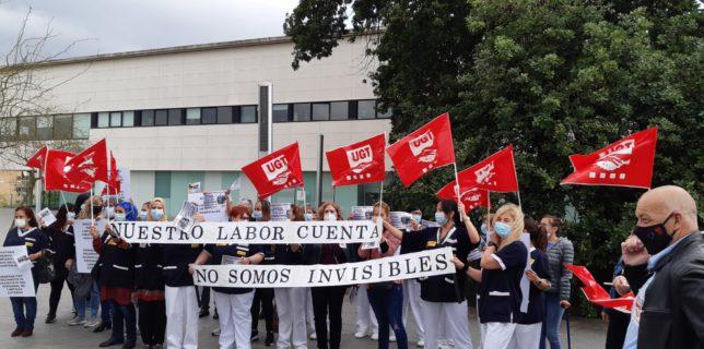 Gran participació en la vaga de neteja als centres sanitaris i sociosanitaris, tot i els serveis mínims abusius