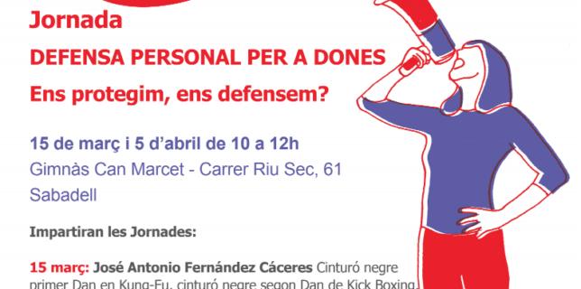 Jornada Defensa Personal per a Dones en els actes de 8 de març a Sabadell